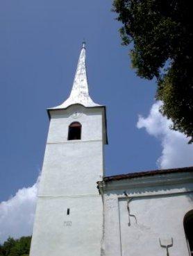 A kőrispataki református templom