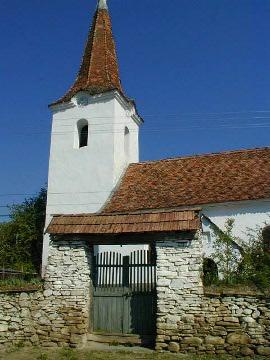 A kőrispataki unitárius templom